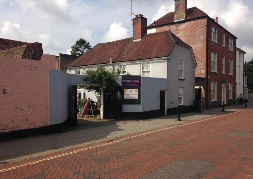 alterations and extensions to Grade II listed building in chichester
