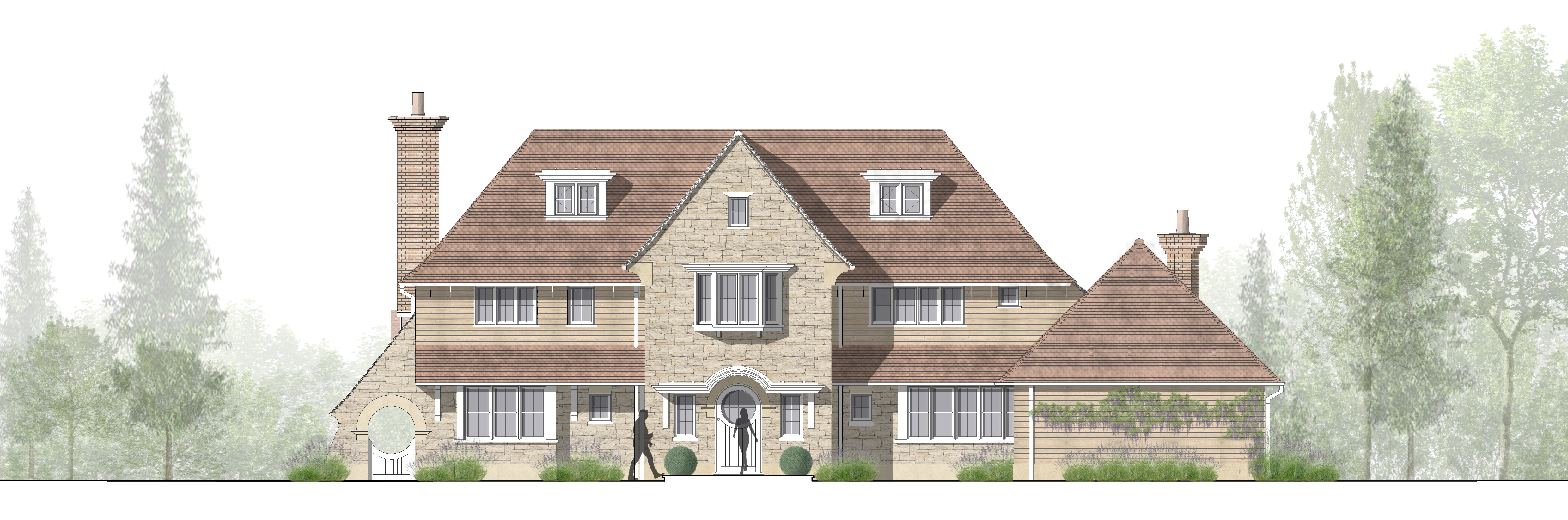 Planning Permission - New Build House - Granted. By Pullen & Wells