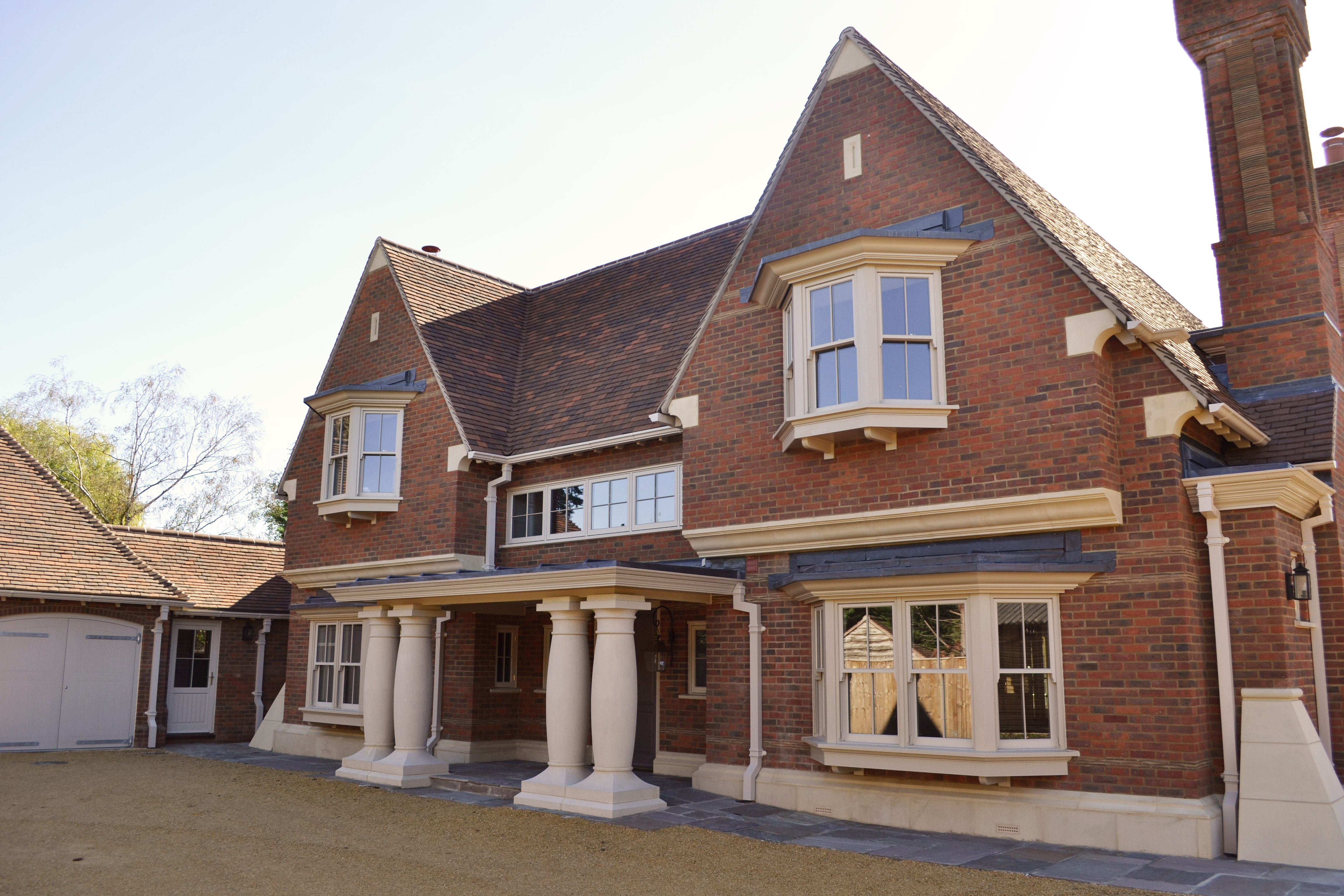 New House Surrey Hills – North Elevation – New House