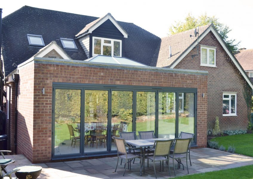 Extension & Alteration – 1960's House Rear Elevation