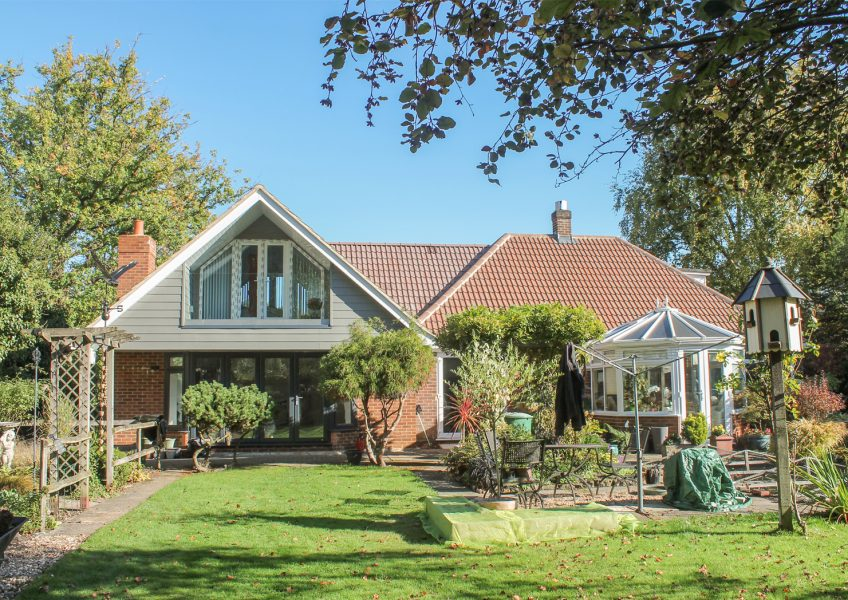 1950's Period Property – Rear Elevation