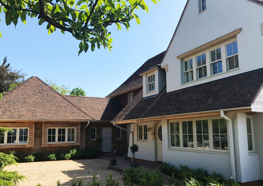 Waterfront family home within the Chichester Harbour Conservation Area